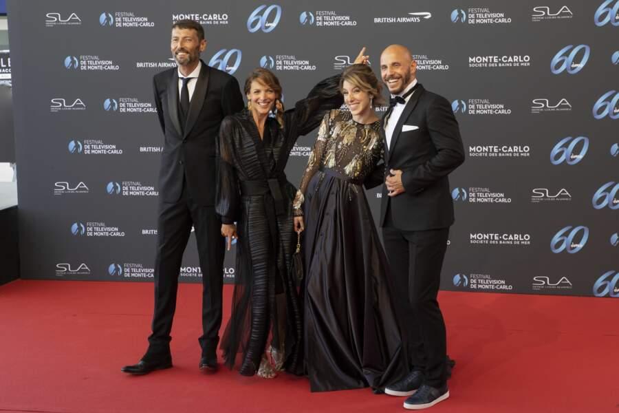 Laurent Kerusore, Elodie Varlet, Léa Francois et David Ban.
