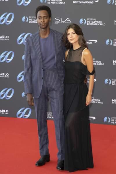 Edi Gathegi et Adriana Marinescu assistent à l'ouverture du festival.