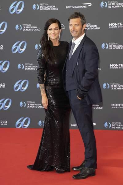Hélène et Franck Semonin prennent la pose.