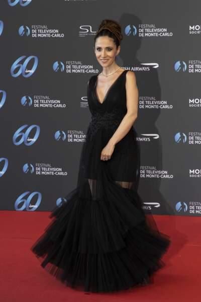 L'ex-star de Plus belle la vie Fabienne Carat.