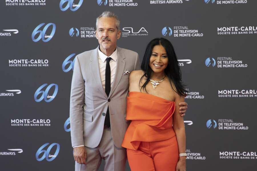 Anggun et son mari, le photographe Christian Kretschmar.