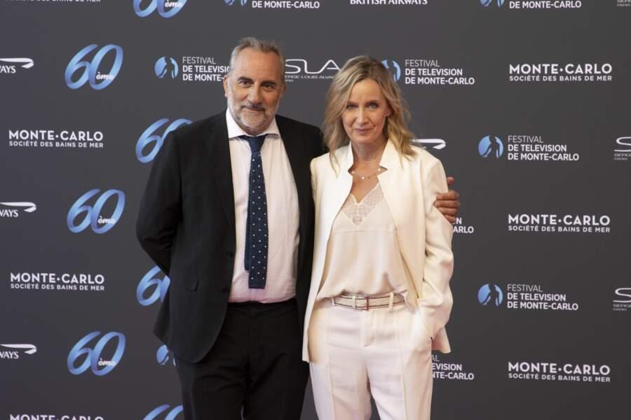 L'acteur Antoine Dulery et l'actrice Catherine Marchal.