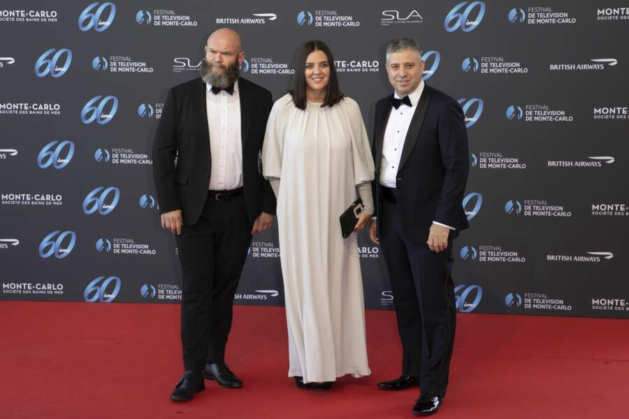 Darko Peric (acteur serbe), Gisella Marengo (productrice et actrice italienne) et Eugene Afineevsky (réalisateur israélo-américain).