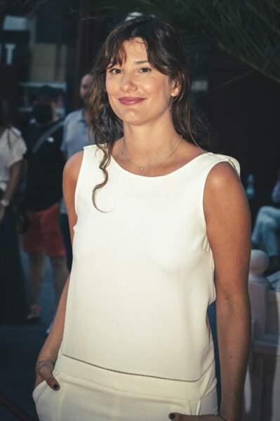 La comédienne Alice Pol sur le tapis rouge du festival de cinéma Cinéroman
