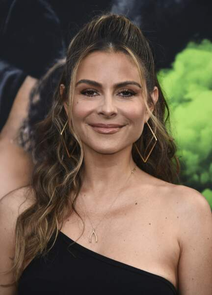 """Maria Menounos arrives at the Los Angeles premiere of """"F9: Fast & Furious 9"""" at the TCL Chinese Theatre on Friday, June 18, 2021"""