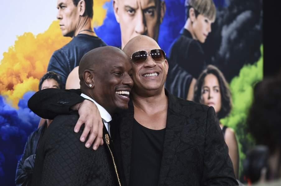 Tyrese Gibson et Vin Diesel