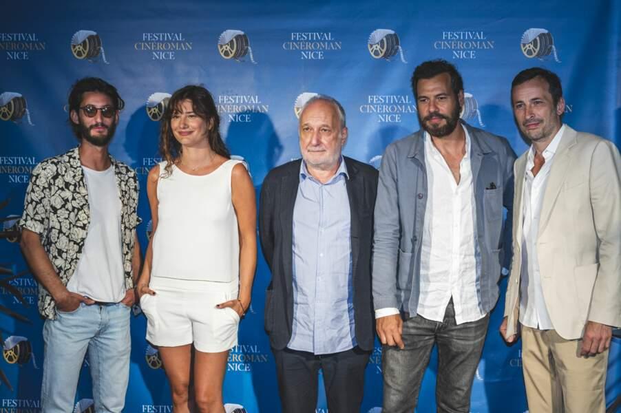 Les stars du cinéma français se sont retrouvées au Festival Cinéroman ce samedi 19 juin à Nice