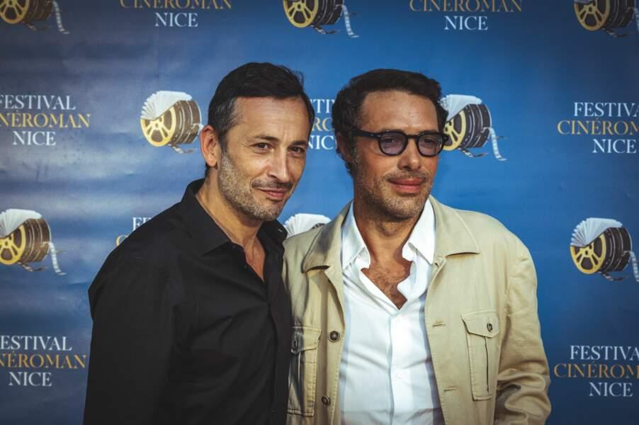 Michael Cohen et Nicolas Bedos le 19 juin 2021