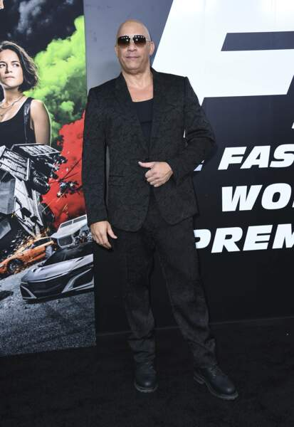 Vin Diesel à l'avant-première de Fast & Furious 9 au Chinese Theatre de Los Angeles vendredi 18 juin
