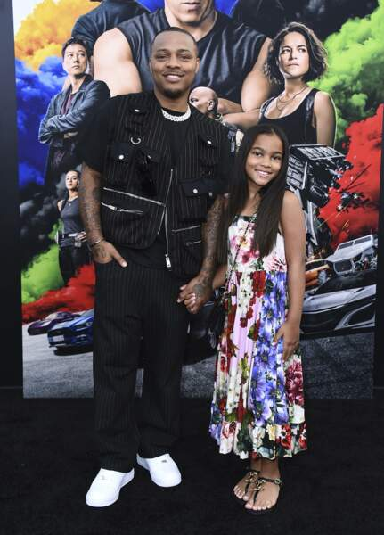"Shad ""Bow Wow"" Moss et sa fille Shai Moss"