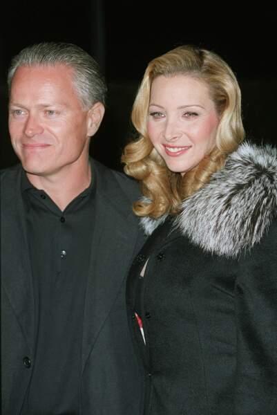 Lisa Kudrow est mariée depuis 1995 avec le publicitaire français Michael Stern