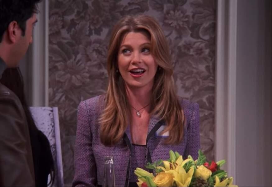 Dans Friends, Ellen Pompeo a prêté ses traits à Missy Goldberg, une ex-copine de lycée de Chandler et Ross
