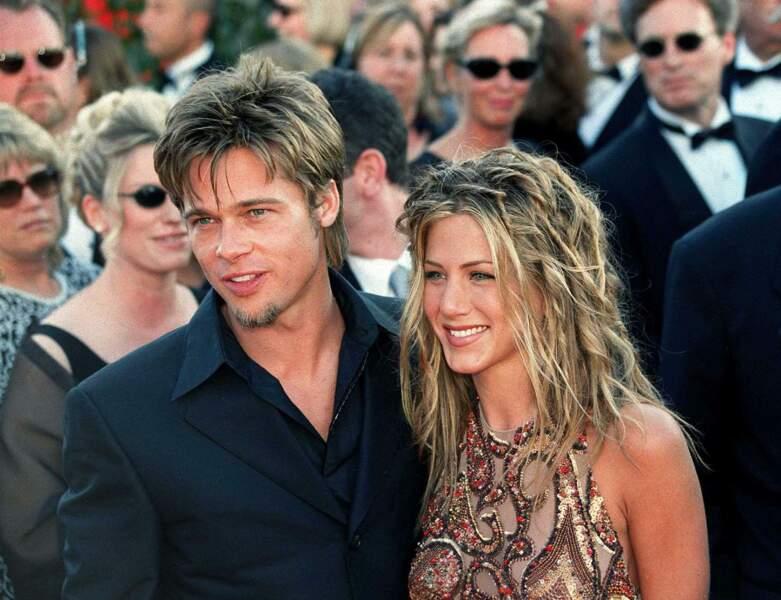 Jennifer Aniston et Brad Pitt, l'une des grandes romances d'Hollywood. Les deux acteurs ont été ensemble entre 1998 et 2005