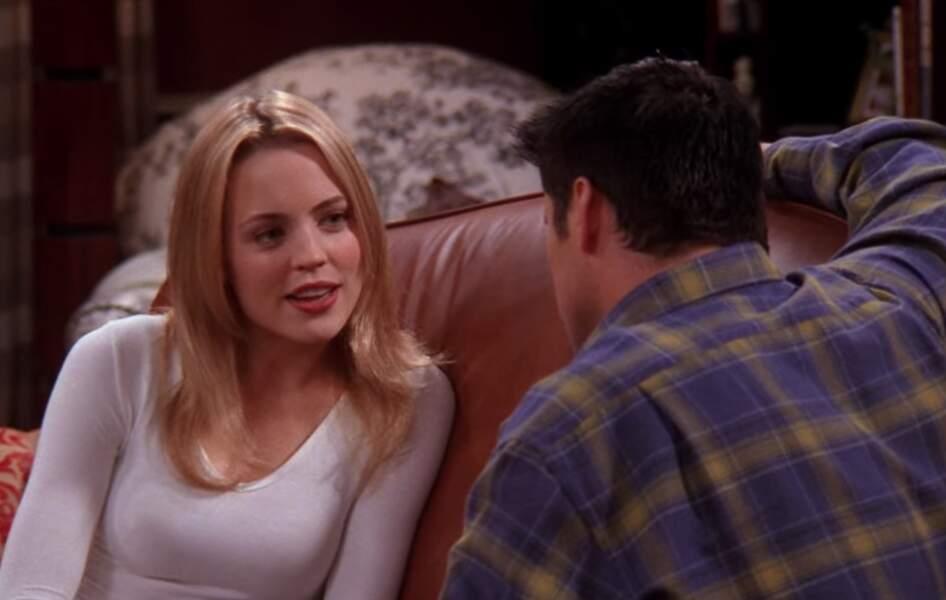 Molly avait été choisie à sa place. Elle était jouée par Melissa George et faisait tourner la tête de Joey, Ross et Chandler, évidemment