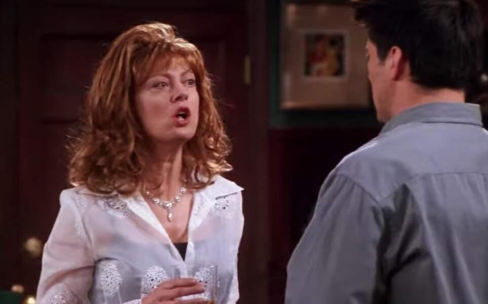 Matt LeBlanc a donné la réplique à Susan Sarandon, venue prêter ses traits à une actrice de feuilleton dont on ne veut plus