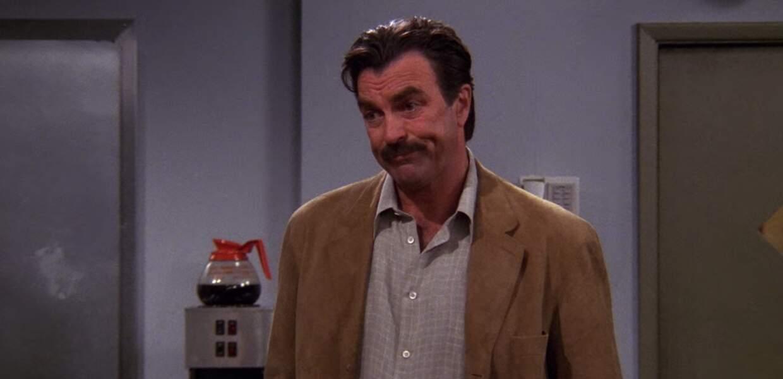 Tom Selleck a longtemps joué Richard Burke, l'autre grand amour de Monica après Chandler