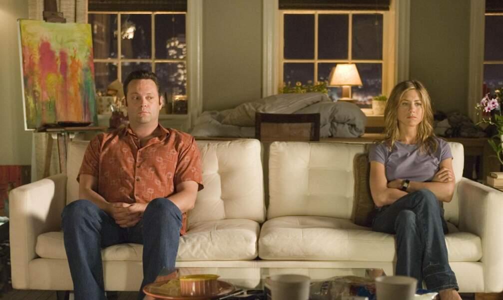 Ironie du sort, ils jouent ensemble dans un film baptisé La Rupture…