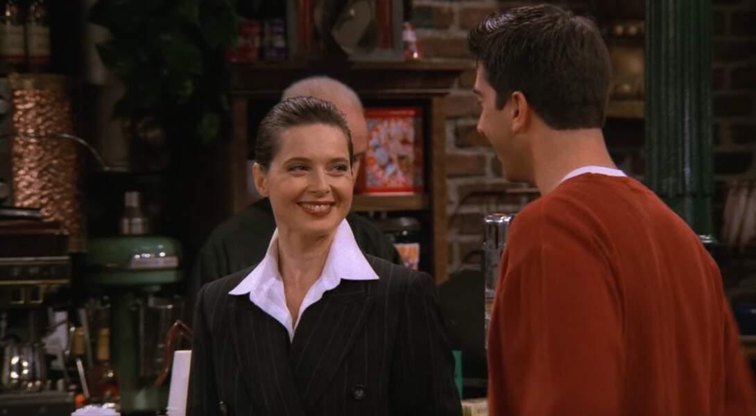 En 10 secondes à peine, Isabelle Rosselini a mis la honte à Ross venu lui dire qu'elle faisait partie des cinq femmes avec qui il aimerait coucher