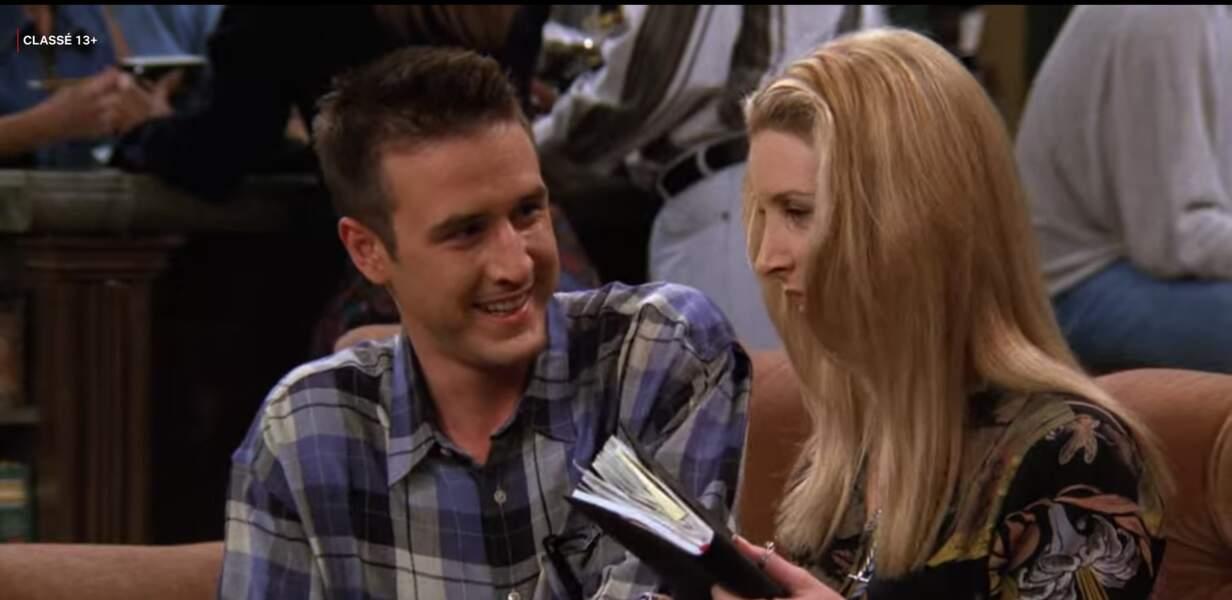 David Arquette, l'ex-mari de Courteney Cox, a prêté ses traits non pas à l'amoureux de Monica mais à celui - maladroit - de Phoebe