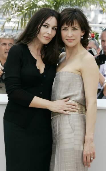 Avec Monica Bellucci