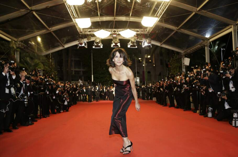 A Cannes, l'actrice s'éclate !