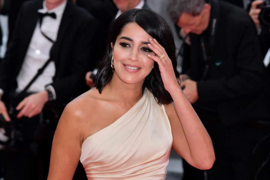 Leila Bekhti sur les fameuses marches en 2019