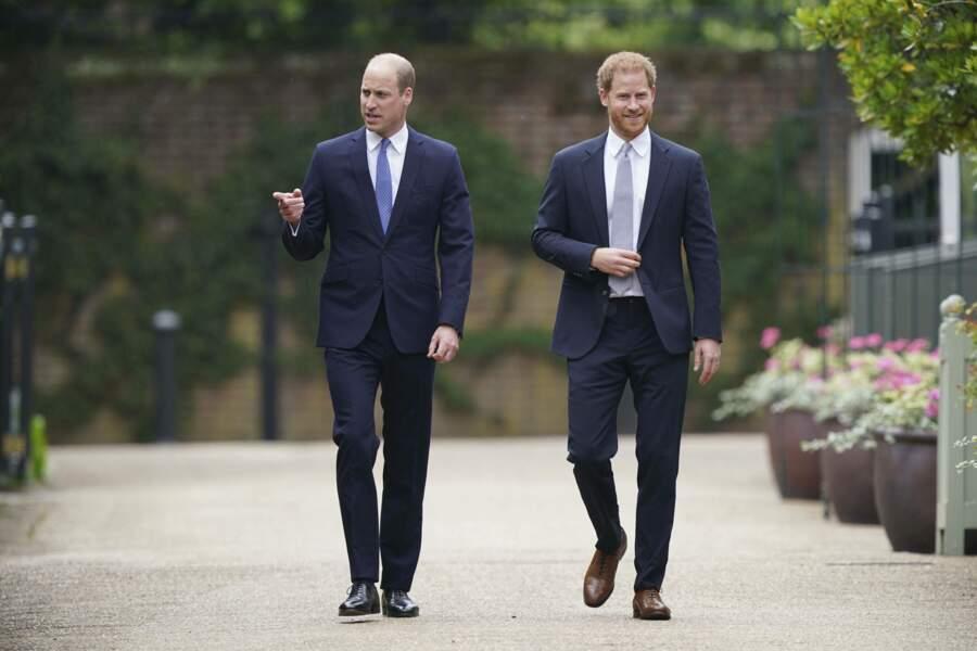Harry et William sont (enfin) réunis