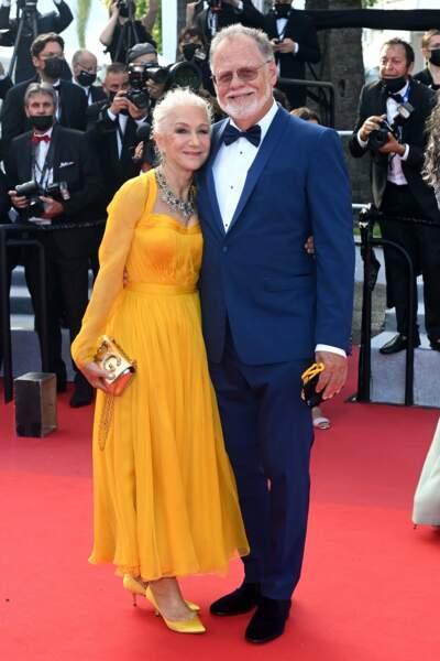 Helen Mirren et le réalisateur Taylor Hackford