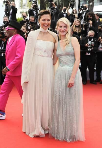 Maggie Gyllenhaal et Mélanie Laurent