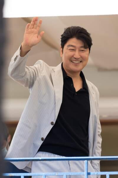 Song Kang-ho  lors du dîner du jury