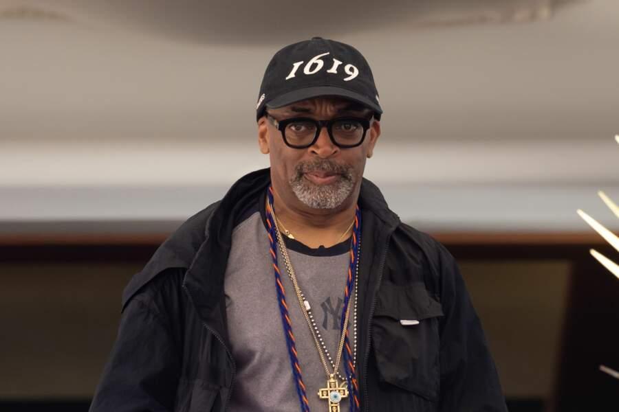Spike Lee lors du dîner du jury le 5 juillet