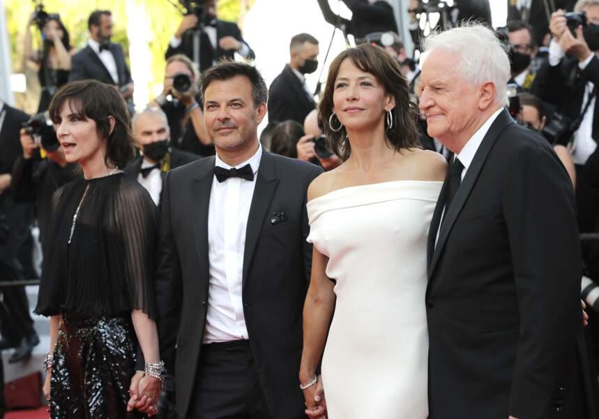 Geraldine Pailhas, François Ozon, Sophie Marceau et André Dussollier