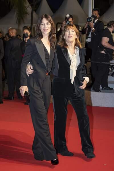 Charlotte Gainsbourg et Jane Birkin