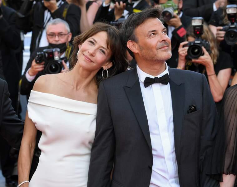 Sophie Marceau et François Ozon