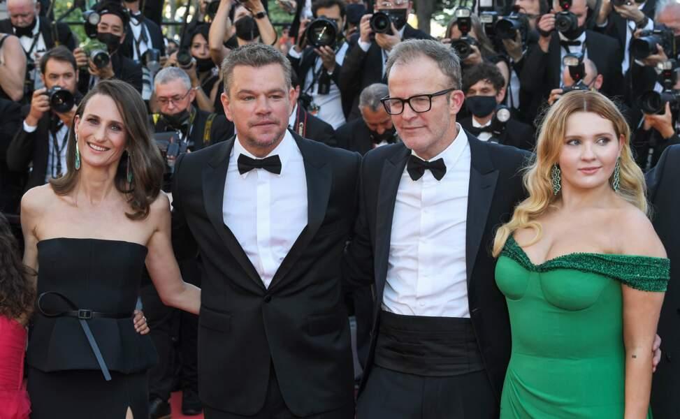 Les acteurs du film autour du réalisateur Tom McCarthy
