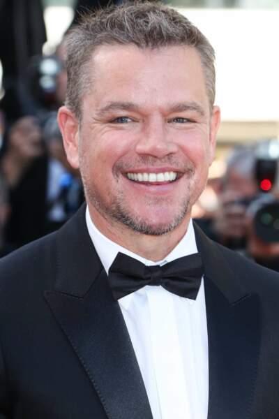 Matt Damon et son sourire ultra bright sur la croisette !