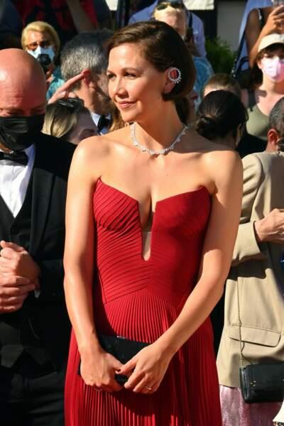 Maggie Gyllenhaal en rouge