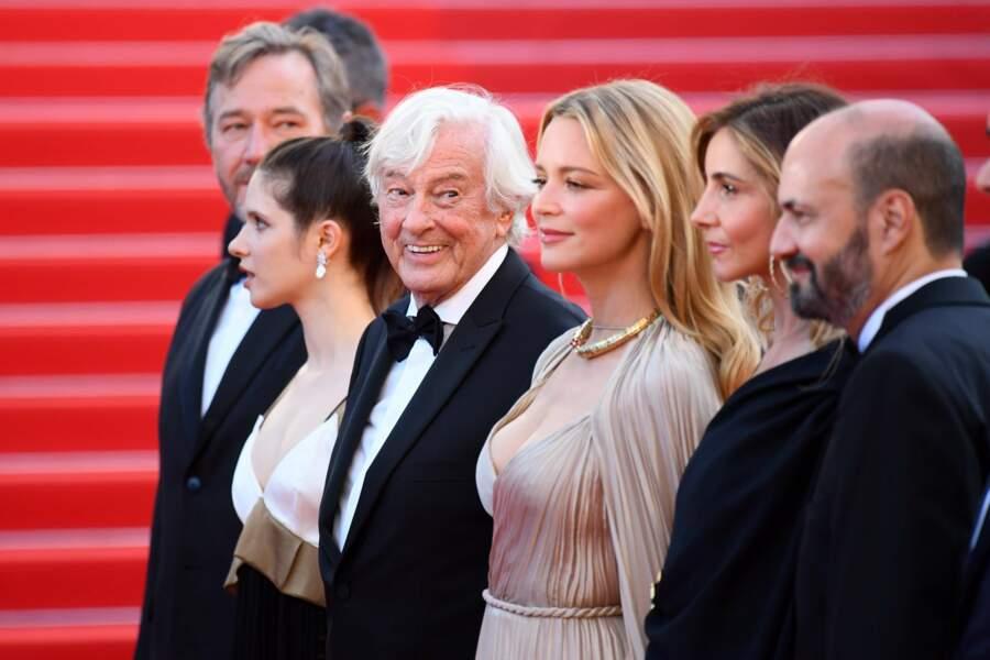 Le cinéaste et son équipe
