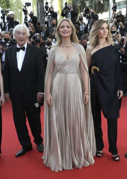 Avec Paul Verhoeven et Clotilde Courau
