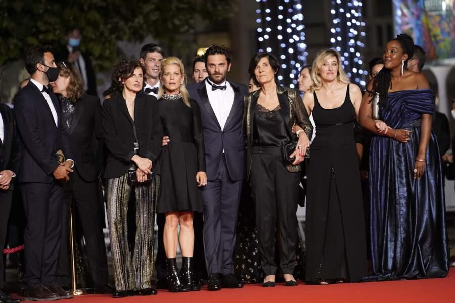 L'équipe du film La fracture de Catherine Corsini