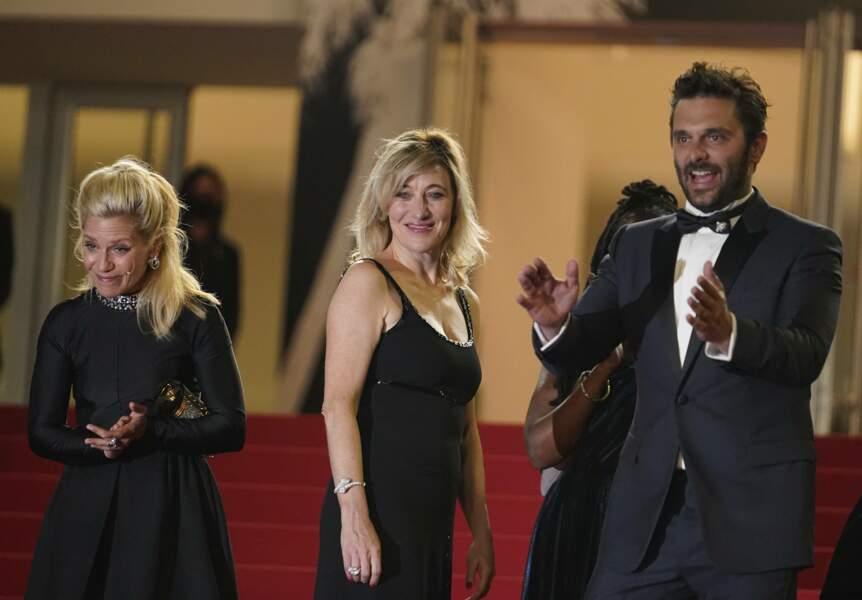 Marina Foïs, Pio Marmai et Valéria Bruni-Tedeschi