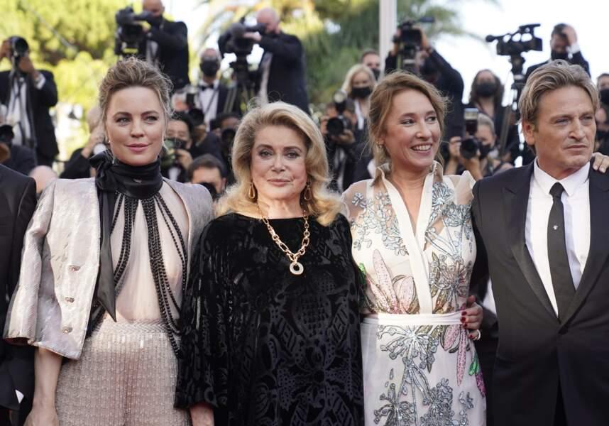 Melissa Georges, Catherine Deneuve, Emmanuelle Bercot et Benoît Magimel