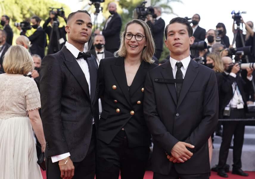Theo Christine, Audrey Estrougo et Sandor Funtek