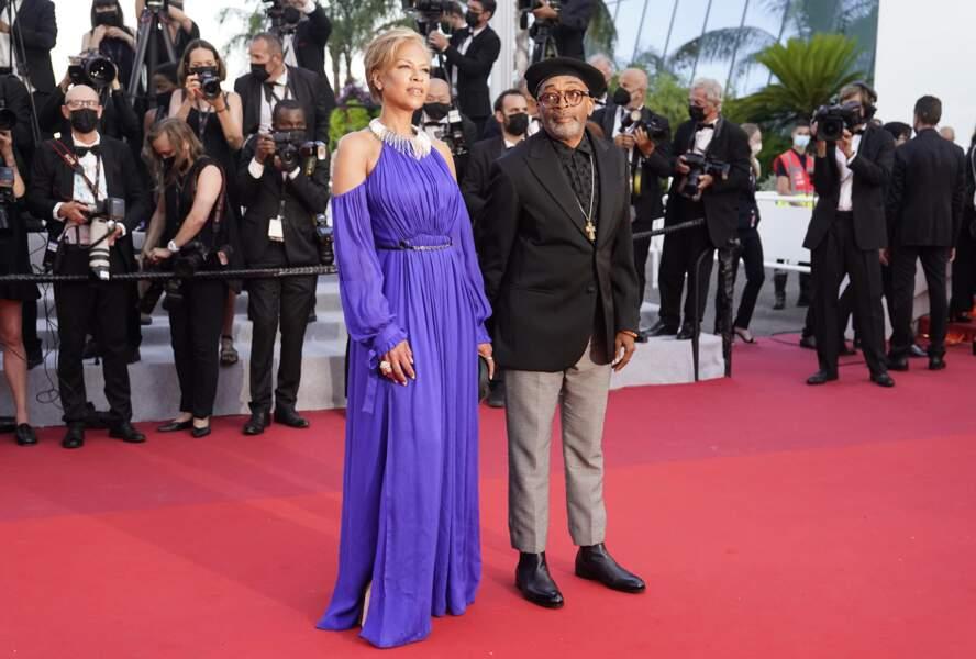 Spike Lee et sa femme Tonya Lewis Lee
