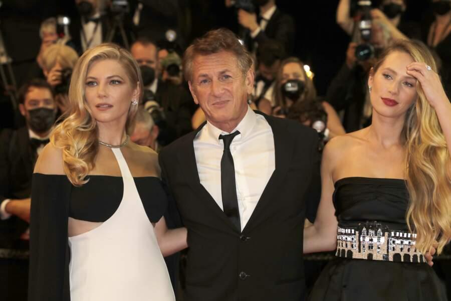 L'actrice Katheryn Winnick, Sean Penn et sa fille Dylan