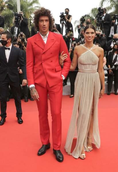 Le chanteur Julian Perretta et sa femme, la mannequin Kambree Dalton
