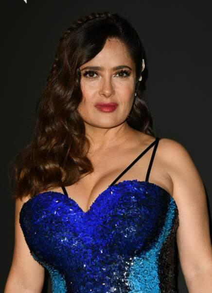 Salma Hayek, une femme du cinéma qui n'a pas peur de parler.