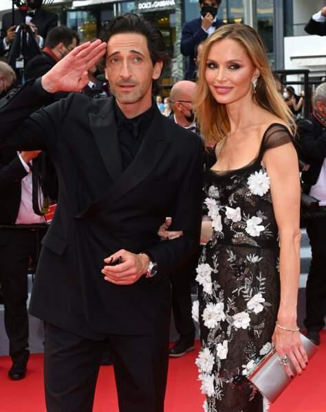 Adrien Brody et sa femme Georgina Chapman