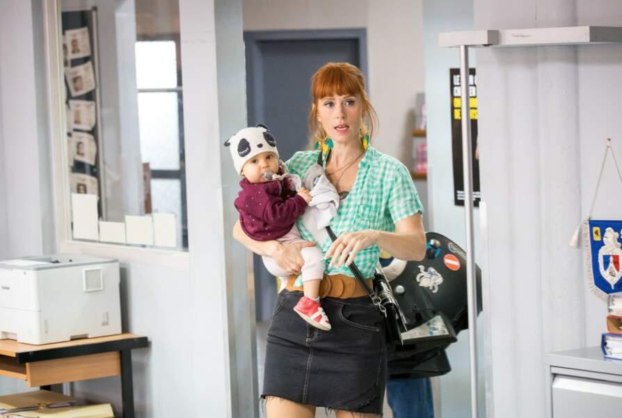En 2021, elle a fait sensation sur TF1 avec la série HPI