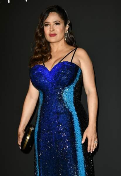 L'actrice, qui est également productrice et a toujours tout fait pour aller au bout de ses projets, en était l'invitée d'honneur.